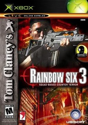 Tom Clancy's Rainbow Six 3: Raven Shield - Cover Art for Rainbow Six 3 on the Xbox