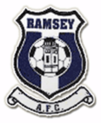 Ramsey A.F.C. - Image: Ramsey A.F.C. logo