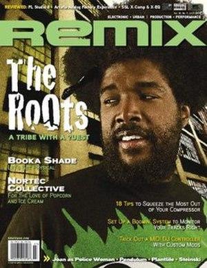 Remix (magazine) - Image: Remix (music magazine)