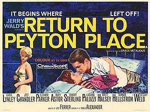 Return to Peyton Place (film) - Original film poster