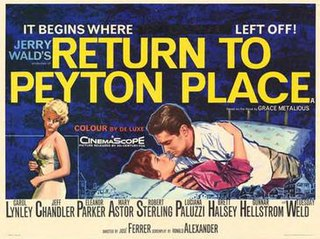 <i>Return to Peyton Place</i> (film) 1961 film by José Ferrer