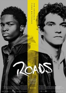 <i>Roads</i> (film) 2019 film directed by Sebastian Schipper