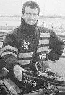 Lightweight Motorcycle Helmet >> Robert Dunlop - Wikipedia