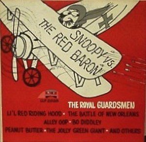 Snoopy vs. the Red Baron (song) - Image: Royal guardsmen snoopy