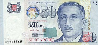 Singapore dollar Official currency of Singapore