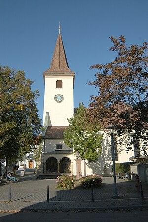 Bad Krozingen - Image: Sankt Albans 07