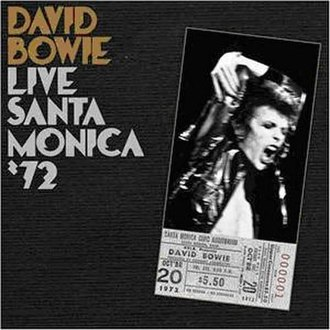 Live Santa Monica '72 - Image: Santa Monica David Bowie