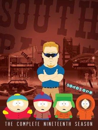 South Park (season 19) - DVD cover