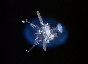 Voyager's Return - Image: Space 1999 Voyager's Return screencap