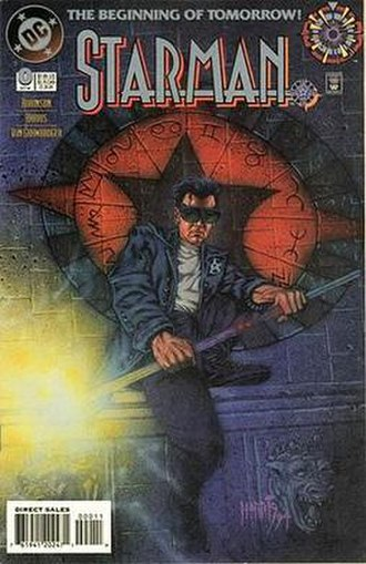 Starman (comics) - Image: Starman (vol. 2) 0