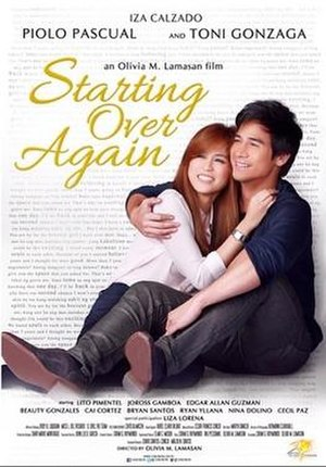 Starting Over Again (film) - Image: Starting Over Again movie poster