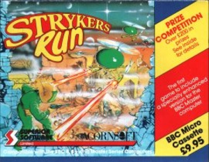 Stryker's Run - BBC Micro cover art