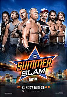 SummerSlam (2016) 2016 WWE pay-per-view and WWE Network event