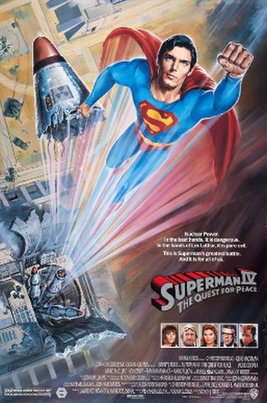 Superman IV: The Quest for Peace - Theatrical release poster