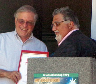 Anthony Portantino - Image: Terry Eliot Tornek and Anthony J. Portantino