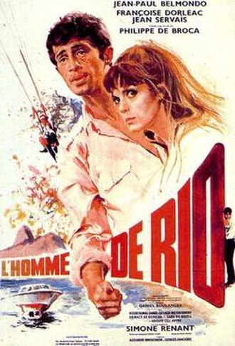 That Man from Rio - Film poster by Yves Thos
