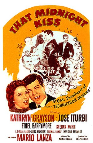 That Midnight Kiss - Theatrical release poster
