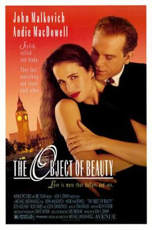 The Object of Beauty - Theatrical release poster
