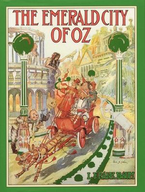 The Emerald City of Oz - First edition design