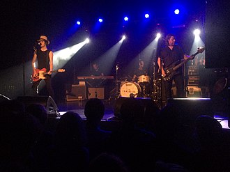 The Fratellis - The Fratellis performing in Birmingham, August 2015