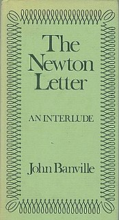<i>The Newton Letter</i> book by John Banville