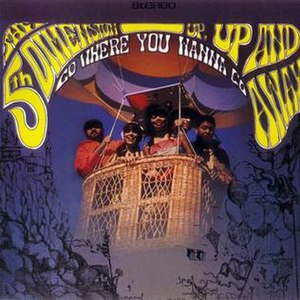 Up, Up and Away (The 5th Dimension album) - Image: The 5th Dimension Up, Up and Away