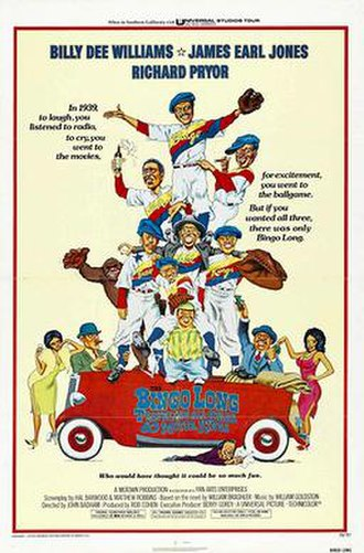 The Bingo Long Traveling All-Stars & Motor Kings - Theatrical Release Poster