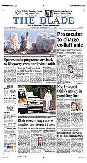 <i>The Blade</i> (Toledo, Ohio) American newspaper from Toledo, Ohio