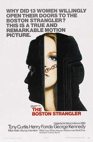 The Boston Strangler (film) - Theatrical release poster