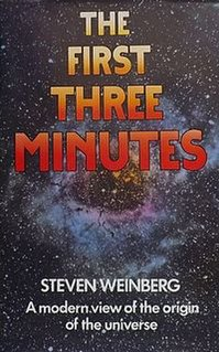 <i>The First Three Minutes</i> book by Steven Weinberg