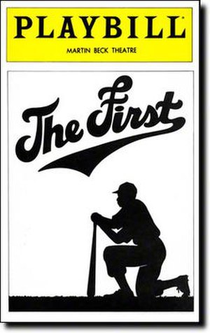 The First (musical) - Broadway Playbill cover
