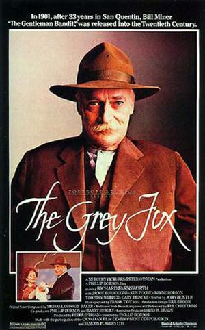 The Grey Fox - Film poster