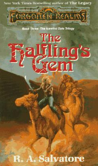The Halfling's Gem - Cover of the first edition