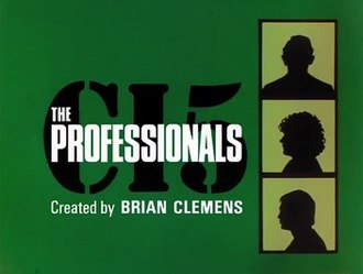 The Professionals (TV series) - Title card used from Series 2 onwards, and repeat transmissions of Series 1