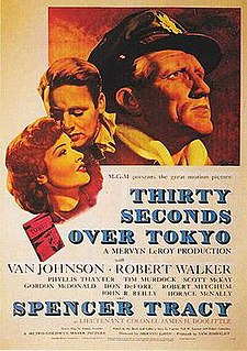 <i>Thirty Seconds Over Tokyo</i> 1944 American film by Mervyn LeRoy