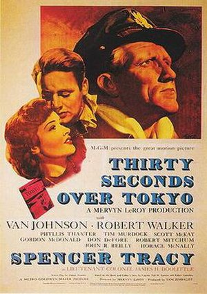 Thirty Seconds Over Tokyo - Theatrical release poster