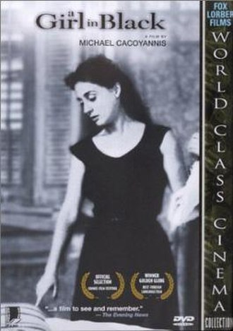 A Girl in Black - The film poster