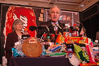 Tom Harkin - Sen. Tom Harkin holds a press conference regarding legislation to improve healthy eating habits.