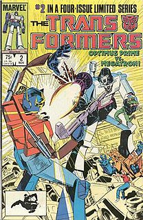 <i>The Transformers</i> (Marvel Comics) Marvel Comics