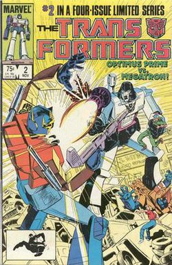 the transformers marvel comics wikipedia