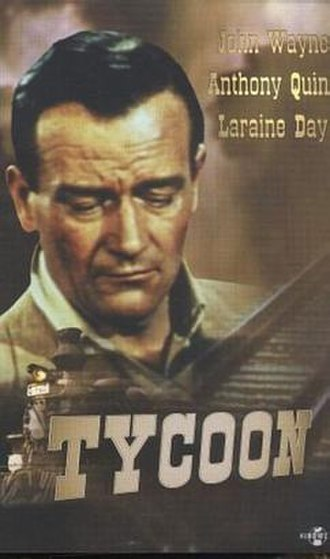 Tycoon (1947 film) - Film poster