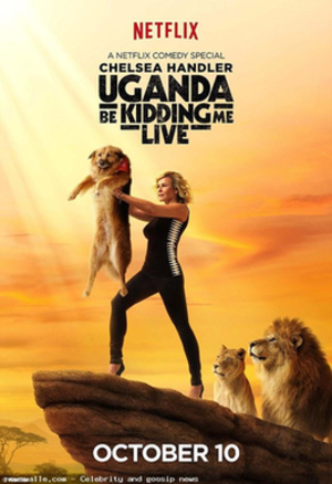 Uganda Be Kidding Me: Live - Image: Uganda Be Kidding Me Live poster