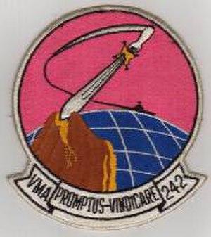VMFA(AW)-242 - Squadron logo after reactivation as VMA-242