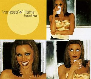 Happiness (Vanessa Williams song) - Image: Vanessa Williams Happiness Maxi CD cover