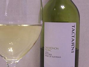 Victorian wine - A Victorian Sauvignon blanc.