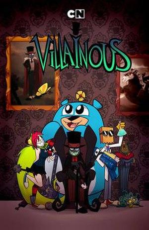 Villainous (miniseries) - Image: Villainous Miniseries Original Cover
