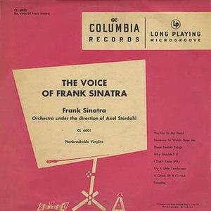 The Voice of Frank Sinatra - Image: Voiceoffranksinatra