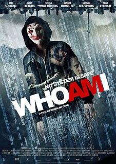 <i>Who Am I</i> (2014 film) 2014 German techno-thriller film