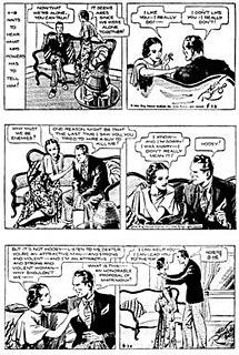 <i>Secret Agent X-9</i> comic strip
