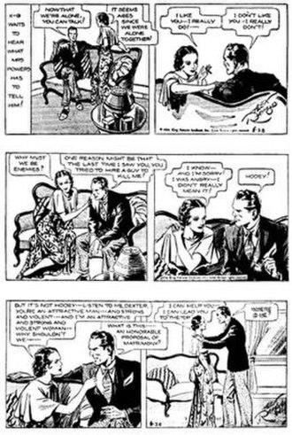 Secret Agent X-9 - Alex Raymond's Secret Agent X-9 (1934)